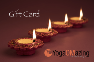 Gift cards are available at the studio.